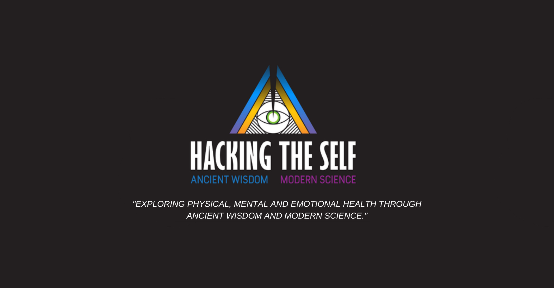 Hacking The Self Homepage Banner
